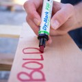 dy-mark, dymark, p series, paint marker, writing on pallets, writing on wood